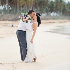 dreamy punta cana beach wedding- huracan cafe