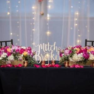 Sweetheart table on Aisle Perfect