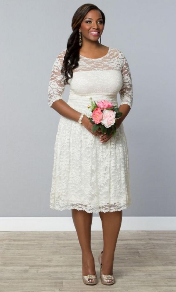 10 Perfect Plus Size Bridal Shower Dresses - Aisle Society