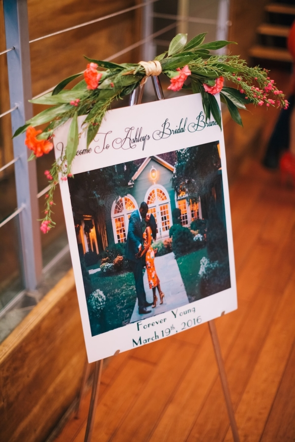 Large Polaroid Bridal Shower Sign