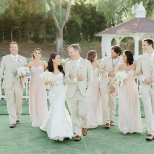 romantic outdoor wedding on Aisle Perfect