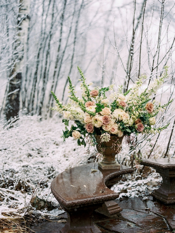 Lush and Barren are the Perfect Contradictions for This Beautiful Styled Shoot