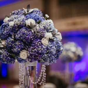 The Reception Completely Changed Vibes, Going for Blue and Silver with Tons of Crystals