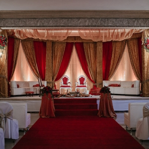 This Custom Built Mandap is A Work of Art!