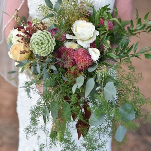 This Beautiful Bouquet Proved Colder Weather Can Be Colorful!