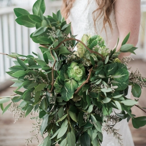 Your Bouquet Doesn't Have to Include Flowers-- Think Outside the Box!
