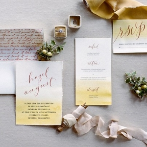 This Sunny Invitation Suite Would be Springtime Perfection!