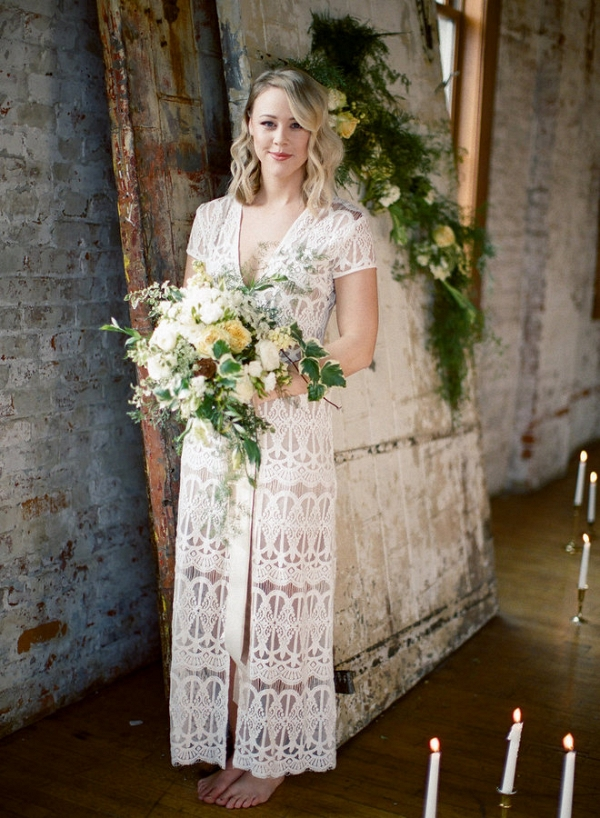 This Boho Chic Bride is Easy Going and Casually Elegant!