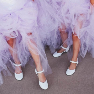 Everyone Loves Flower Girls in Tulle!