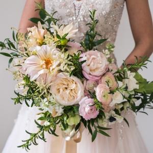 Paris Inspired Wedding Bouquet
