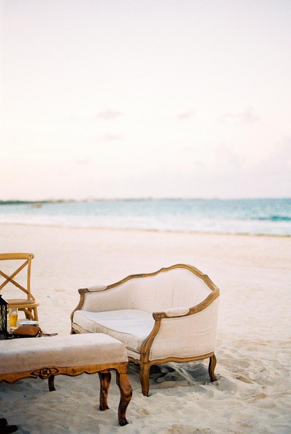 Wedding Lounge on the Beach