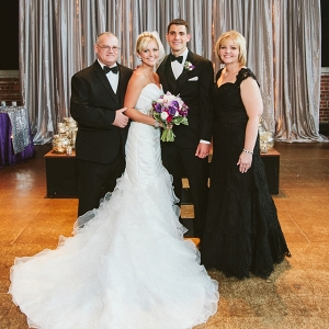 Parents of the Bride are Beaming with Pride on Their Daughter's Wedding Day
