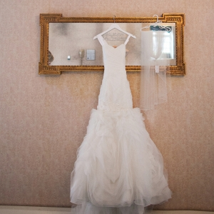 Beautiful Mori Lee Wedding Dress Exquisite Custom White Bridal Hanger Tulle Veil