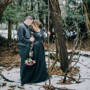A Twisted Fairy Tale was the Theme of This Engagement Session