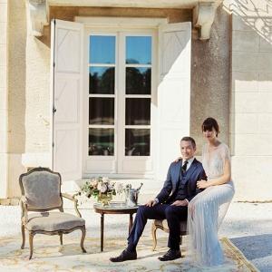 French chateau wedding on Burnett's Boards