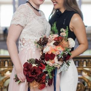 Industrial same sex wedding on Burnett's Boards
