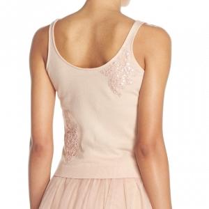'Cora' Lace Detail Bridesmaids Tank