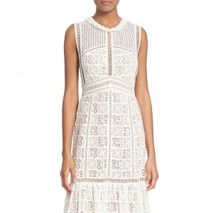Crochet Lace Sleeveless Dress