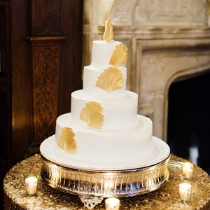 Art Deco Inspired Wedding Cake