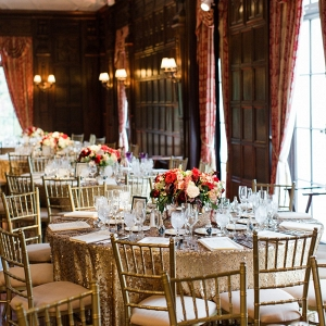 Elegant Art Deco Inspired Wedding Reception