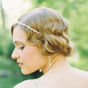 Elegant Vintage Bridal Updo. Photography ~ Kimberly Brooke Photography