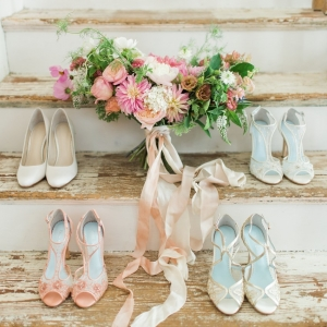 Elegant Bridal Shoes by Bella Belle Shoes | As seen on @aislesociety | Photography - Rachel May