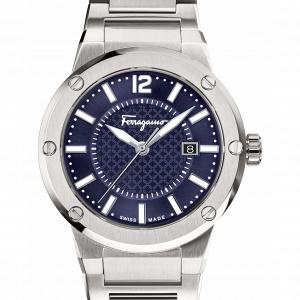 Salvatore Ferragamo 'F-80' Bracelet Watch, 44mm