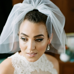 Beautiful Vintage Inspired Bridal Makeup