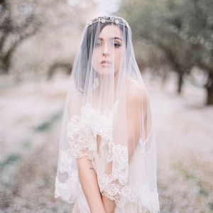 Forget Me Not Bridal Tiara