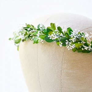 Greenery Bridal Floral Wreath
