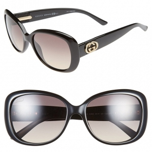 Gucci 56mm Swarovski Crystal Sunglasses