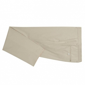 Hugo Boss Slim Fit, Stretch Cotton Suit Pants in Stone