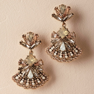 Jayne Deco Drop Earrings