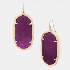 Kendra Scott 'Danielle - Large' Oval Statement Bridesmaid Earrings
