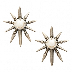 Kendra Scott 'Rogan' Pearl Stud Earrings