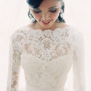 Elegant Lace Bridal Top