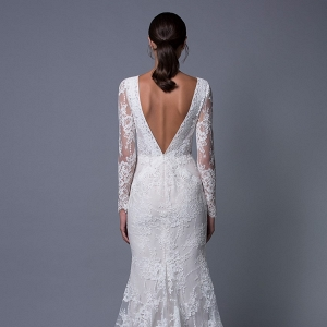 Zoe Long Sleeve Lace Wedding Dress from Lihi Hod