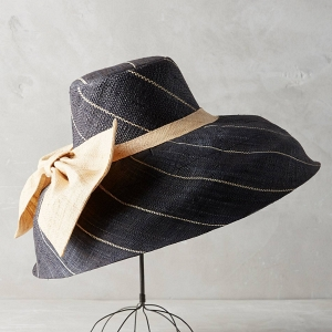 Midships Navy Raffia Sun Hat
