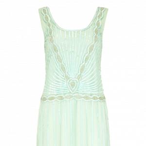 Mint Gatsby Bridesmaid Dress