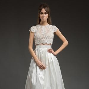Tamara High Low Wedding Dress from Katya Katya Shehurina
