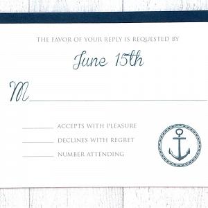 Nautical Wedding RSVP