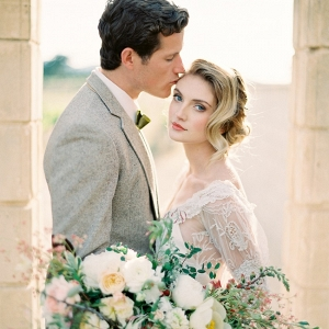 Modern Vintage Bride & Groom
