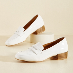 Remarkably Retro Vegan Bridal Loafer