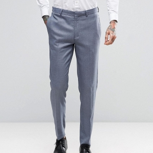 Slate Gray Suit Pants