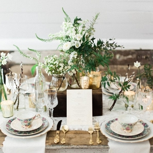 Rustic Vintage Inspired Tablescape