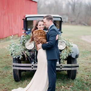 Romantic Vintage Inspired Bride & Groom