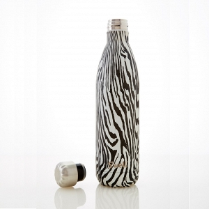 'Zebra' Insulated Stainless Steel Water Bottle