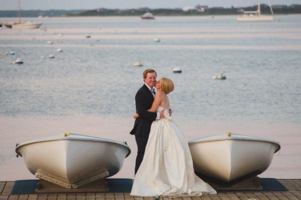Nautically Preppy Wedding on Nantucket