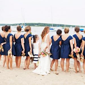 Preppy wedding in Watch Hill, RI
