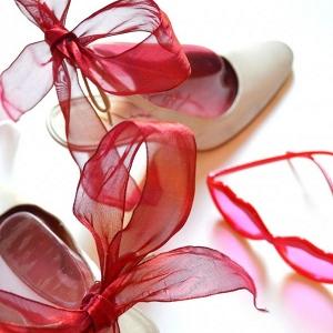 Wedding shoe diy